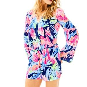 Lilly Pulitzer Floral Ariele Romper